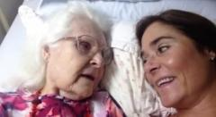 Viral video shows elderly woman with Alzheimer's remember her daughter
