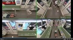 Man faints on Shanghai metro, passengers jump out of car