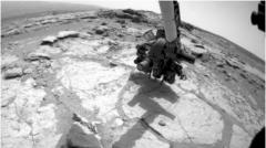 Mars rover makes first age determination of rock off Earth