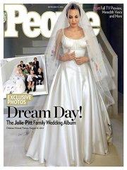 Angelina Jolie, Brad Pitt unveil first photos from their wedding