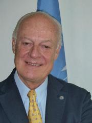 U.N. appoints new international mediator for Syria peace talks