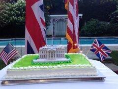 U.K. Embassy apologizes for 'burning the White House' tweet
