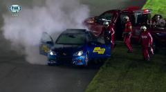 Pace car catches on fire in NASCAR race [VIDEO]