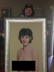Jimmy Kimmel bought nude Bea Arthur painting for $1.9M