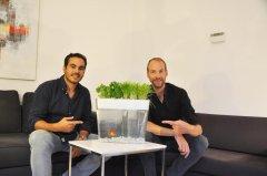 Dutch firm seeks to fund goldfish poop herb garden