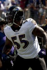 Terrell Suggs sidelined by knee injury