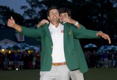Adam Scott edges Angel Cabrera on 2nd playoff hole for Masters win