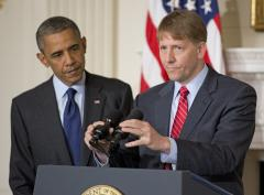 Financial watchdog Richard Cordray sworn in