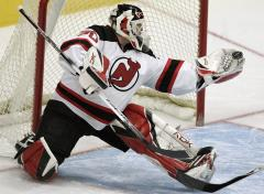 Brodeur takes NHL's top weekly honor