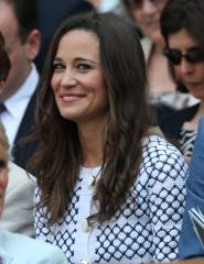 Pippa Middleton thinks her bridesmaid dress fit 'a little too well'