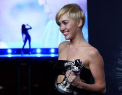 Miley Cyrus shocks at MTV VMAs with charitable acceptance speech