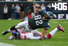 NFL: Philadelphia 40, New York Giants 17