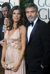 George Clooney's ex Elisabetta Canalis 'happy' for his engagement