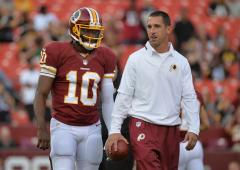 Redskins: Griffin to start at quarterback Monday
