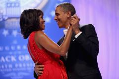 President Obama leads conga line at inaugural-ball after-party