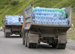 Russian aid convoy to Ukraine misses rally point
