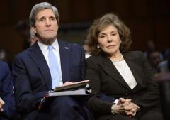 Man arrested after seen taking photos of John Kerry's home