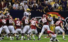 COL FB: Alabama 21, Louisiana State 0
