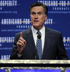 Romney drawing more female support