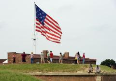 Navy celebrates Flag Day at Fort McHenry