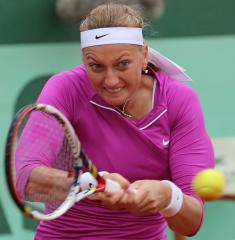 Kvitova up to seventh in WTA rankings