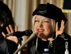 Lauper's uncle died during Hurricane Sandy