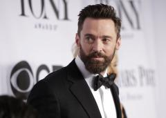 LL Cool J, T.I. rap a song from 'The Music Man' with Hugh Jackman at the Tonys