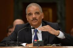 Eric Holder taken to hospital with shortness of breath