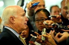 Sen. John McCain reports for jury duty