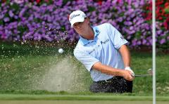 Stricker maintains lead with two eagles