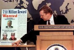 Serb leader Karadzic appears in court