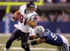 Texans' tight end Daniels out for season