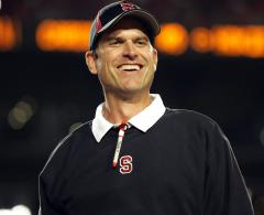 Panthers may consider Harbaugh as coach