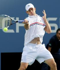 Roddick's career ends, Federer ousted