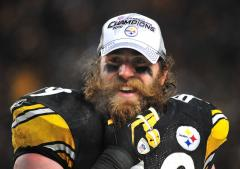 Steelers fan site gives Keisel beards