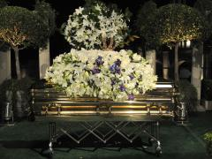 Michael Jackson interred in California