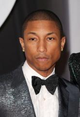 Pharrell Williams, Idina Menzel prep for Oscars performances