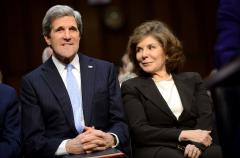 Condition of Teresa Heinz Kerry upgraded to fair