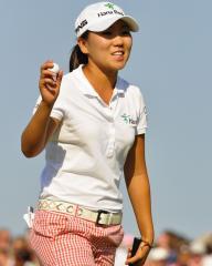 Kim's personal record worth LPGA lead