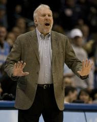 Popovich named NBA West all-stars' coach