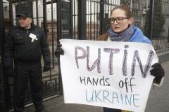 U.S., NATO reject legitimacy of elections in Russian-occupied Crimea