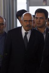 Death threat issued against ElBaradei