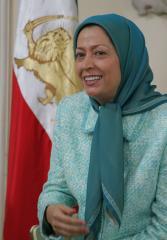 Rajavi urges West to step up heat on Tehran