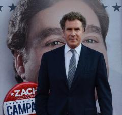 Ferrell: 'Anchorman 2' mustache is real