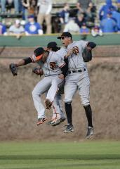 San Francisco Giants destroy Kansas City in spring training