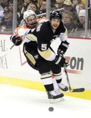 Penguins' Deryk Engelland suspended five games for illegal hit