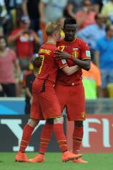 Belgium pushes out South Korea