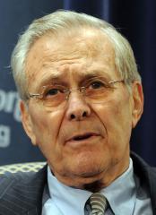 Court won't dismiss Rumsfeld from suit