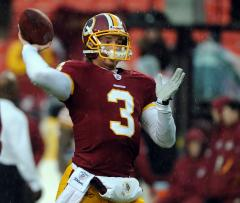 Washington to start Beck at quarterback