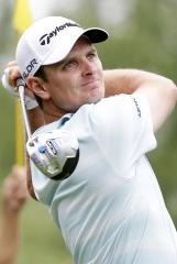 Rose leads PGA's Grand Slam of golf